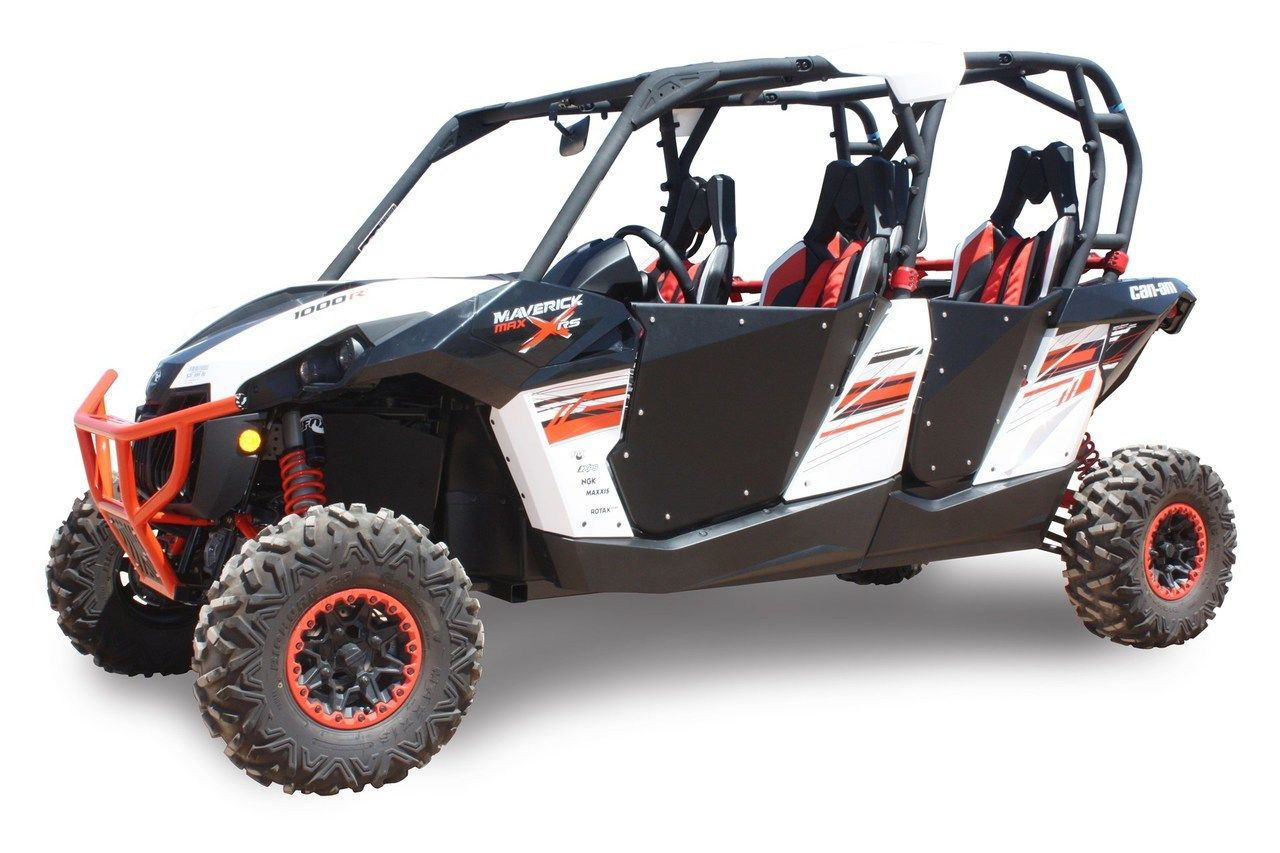 Can-Am Maverick / Commander 4 Seat HiBoy Doors | Side by