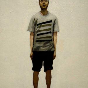 Autorretrato en blanco by Daniel Gonzalez Coves