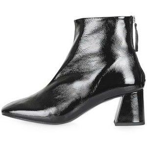 TopShop Maggie Patent Ankle Boots
