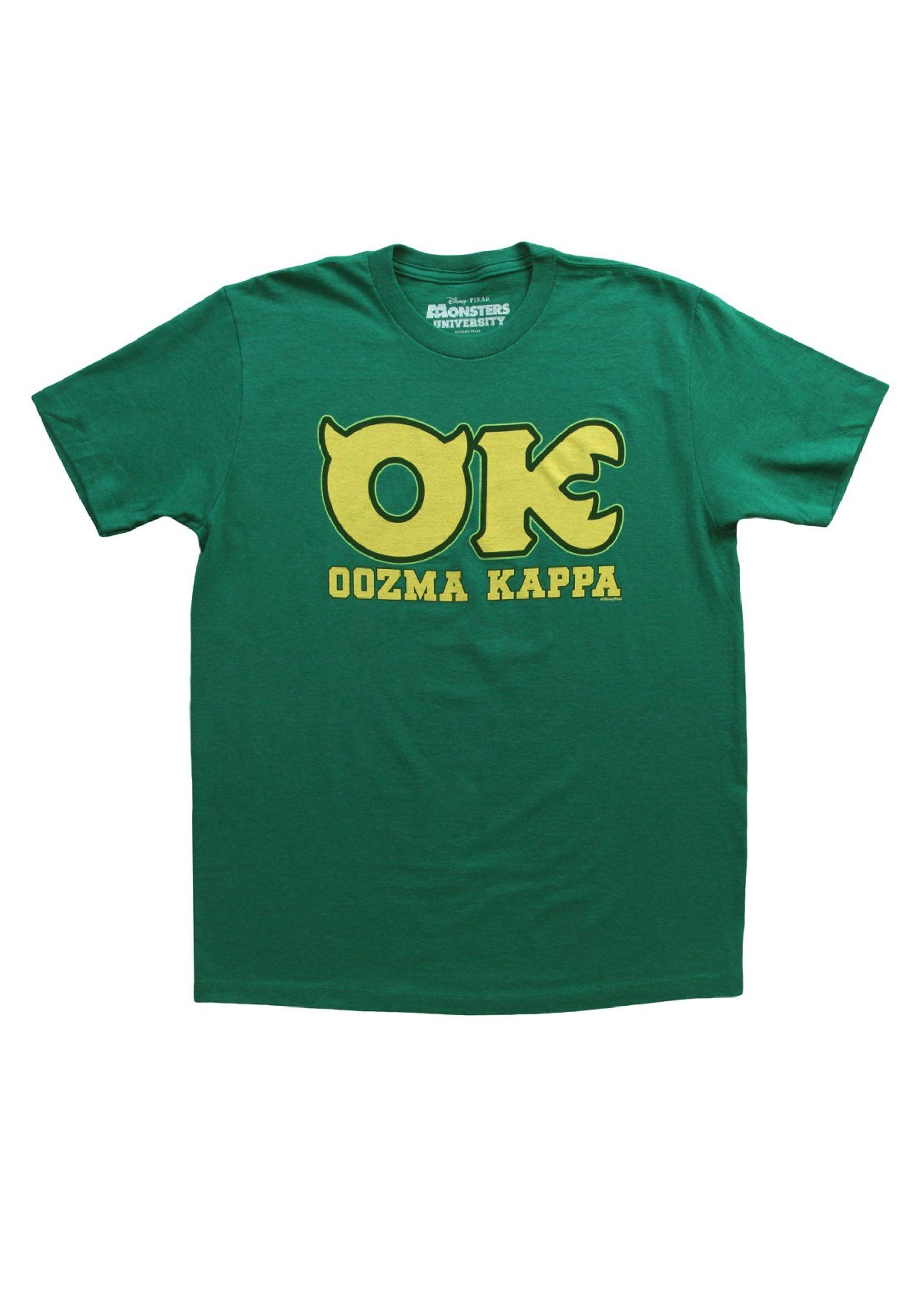 Monster's University OK Fraternity Costume T-Shirt
