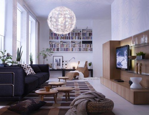 luminaire ikea decoration salon deco salon notre selection