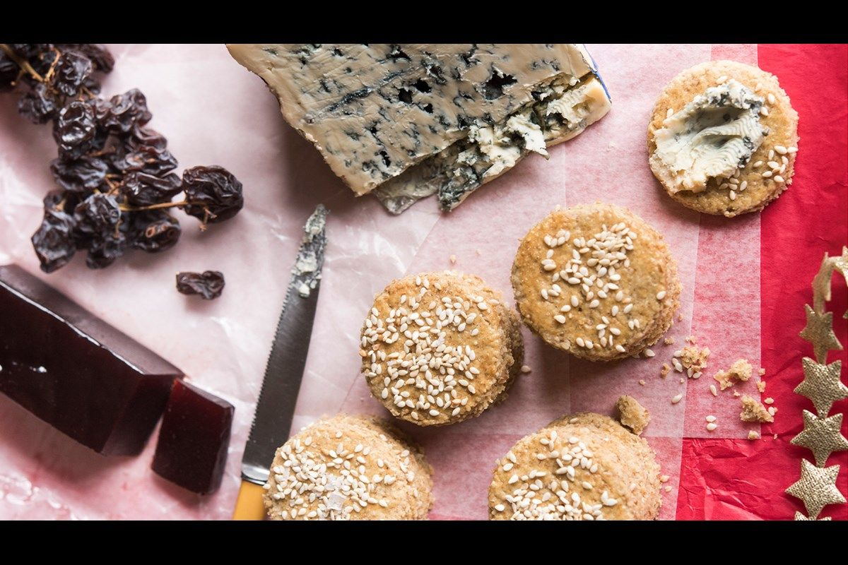 Savoury Oat Biscuits Recipe Bite Perfect To Accompany Cheese