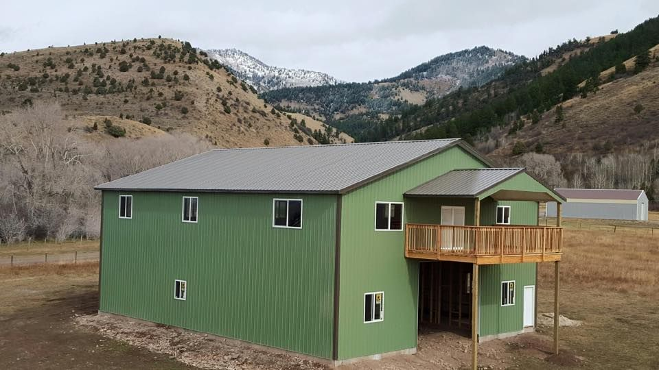 Protectorx Series Tuff Rib Metal Roofing Siding Briggs Steel Moss Green Weathered Copper Pole Barn Metal Siding Gallery Frame Barn Style