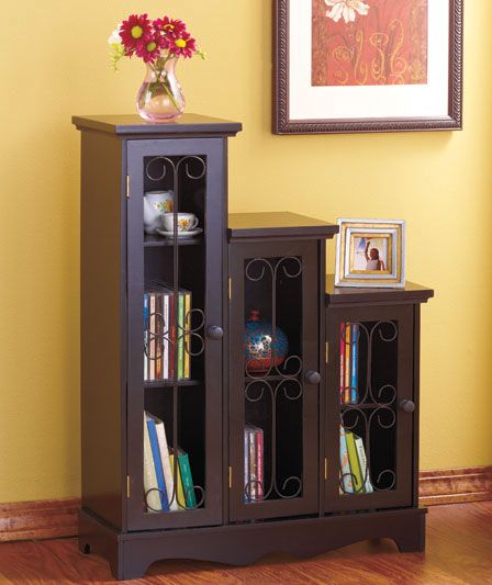 Triple Step Cabinets For The Home Entryway Storage