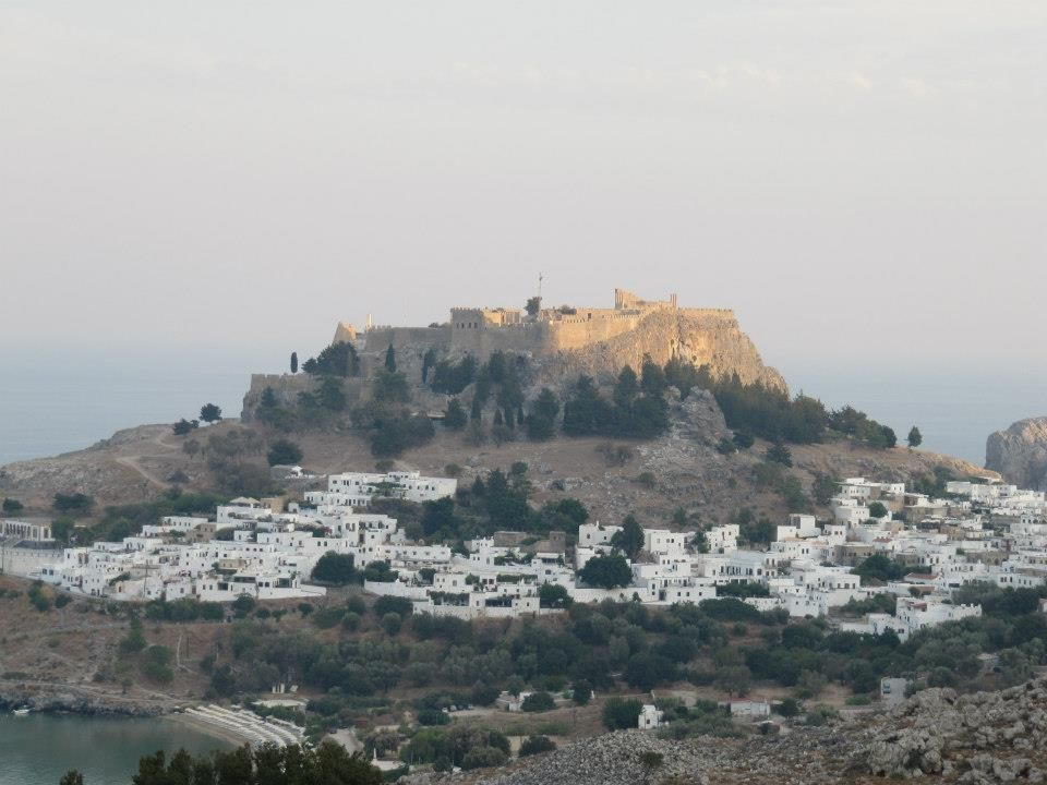 Lindos, Rhodes, Greece.