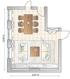 ▷ landhausstil - möbel und deko - Einrichtung Esszimmer Wohnzimmer