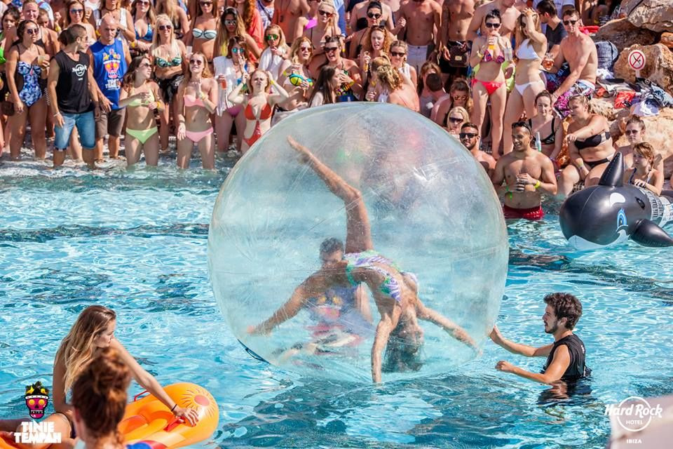 We've created the best pool party in the world!! There are not enough words to…