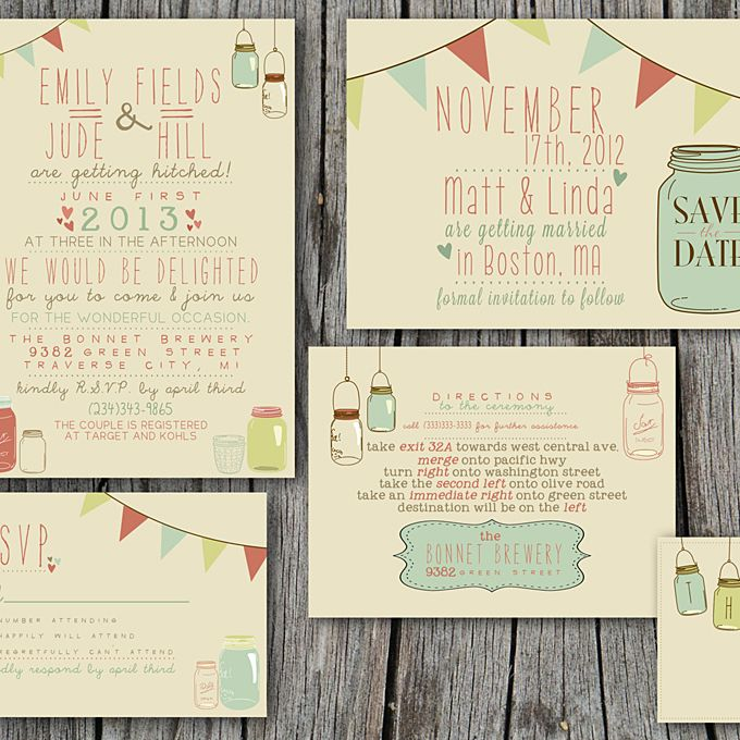 How To Print Your Own Wedding Invitations: 14 Things To