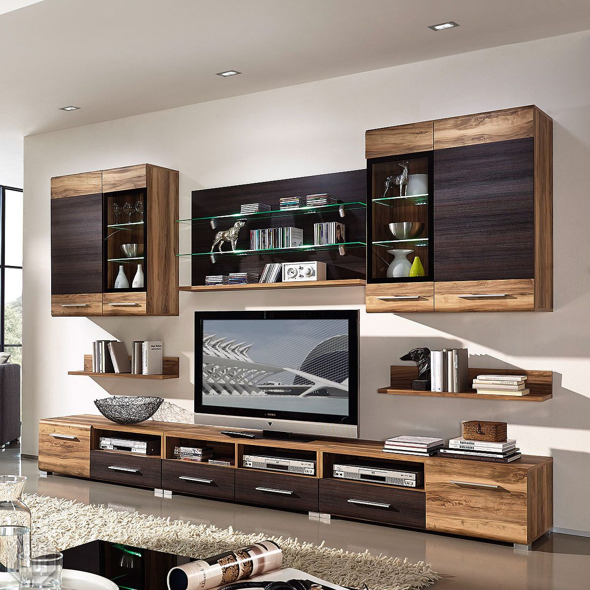 Anbauwand ebay for Wohnzimmermobel klassisch