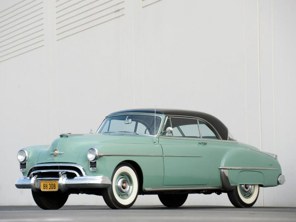 Oldsmobile Futuramic 88 Holiday Coupe 1950 Is A Brand Of American Automobiles Produced