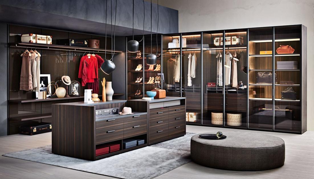 ankleidezimmer ideen zum einrichten und gestalten begehbarer kleiderschrank gliss von. Black Bedroom Furniture Sets. Home Design Ideas