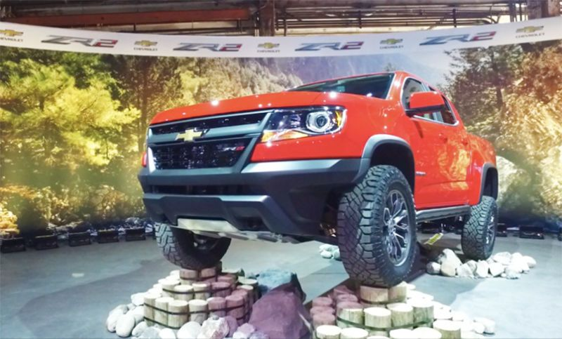 What Really Makes The Chevy Colorado Zr2 So Impressive Chevy Colorado Chevy 2017 Chevy Colorado