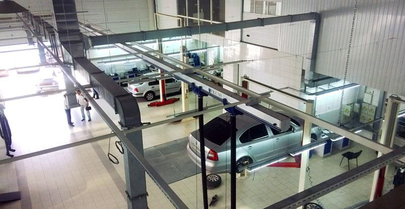 Проект СТО Skoda Талисман Краматорск Projects, Car