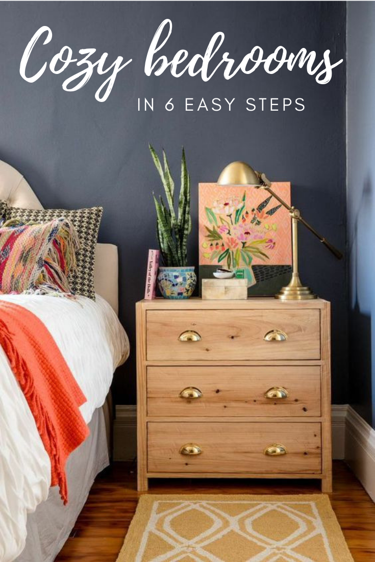 How To Make A Cozy Bedroom In 6 Easy Steps | Bedrooms: Interior