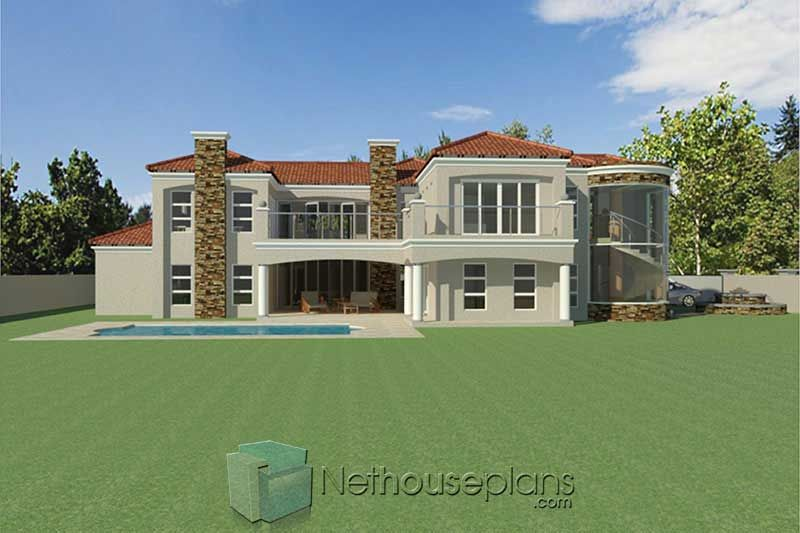 4 Bedroom House Plan South African House Designs Nethouseplansnethouseplans In 2020 Bedroom House Plans 4 Bedroom House Plans 4 Bedroom House