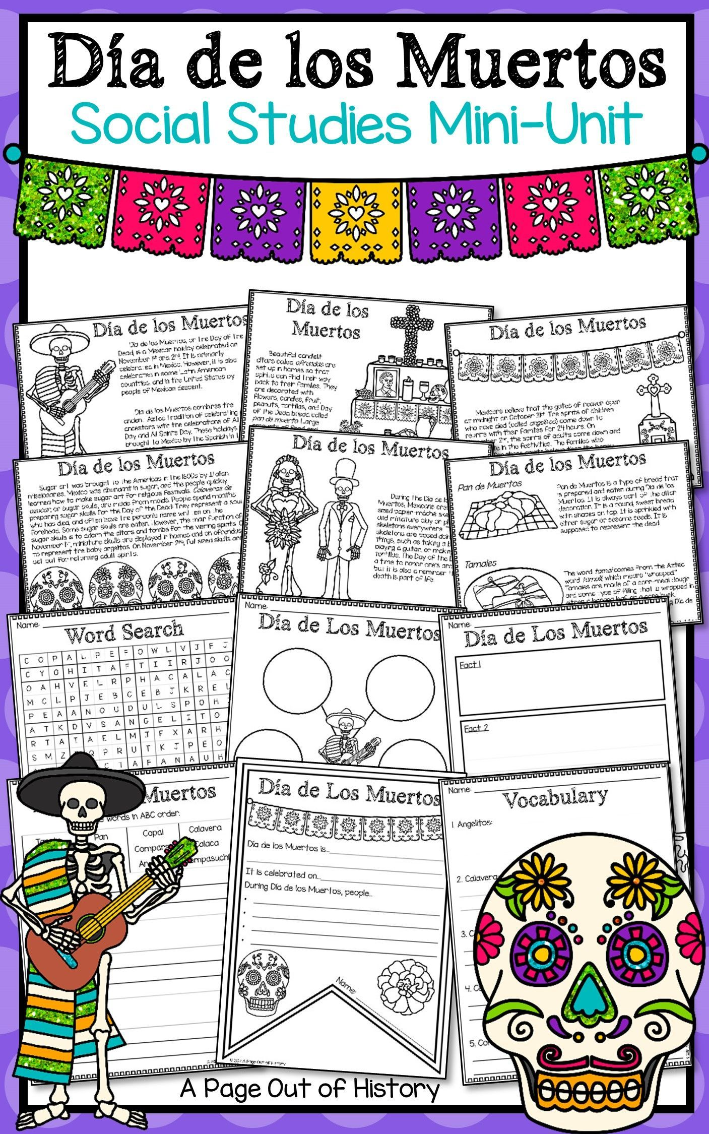 Dia De Los Muertos Day Of The Dead Social Stu S Mini