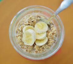 The Art of Comfort Baking: Peanut Butter Banana Overnight Oats
