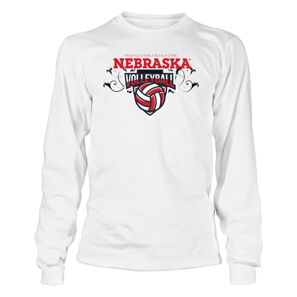 University Nebraska Husker Volleyball Shirts T Shirt Officially Licensed University Nebraska Voll Volleyball Shirts Volleyball Outfits Long Sleeve Tshirt Men