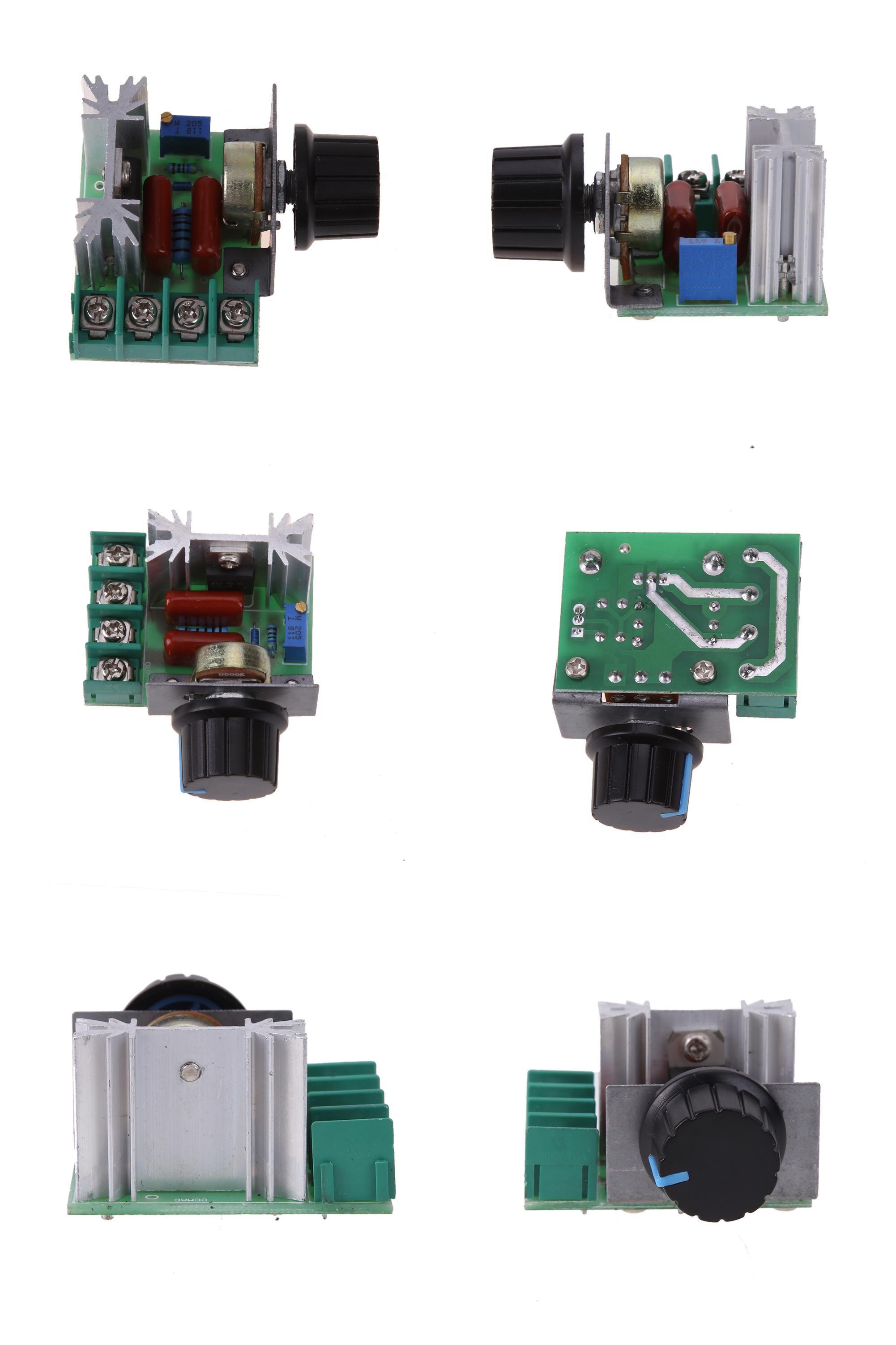 Visit To Buy 2000w Ac 50 220v 25a Adjustable Motor Speed Controller Light Dimmer Voltage