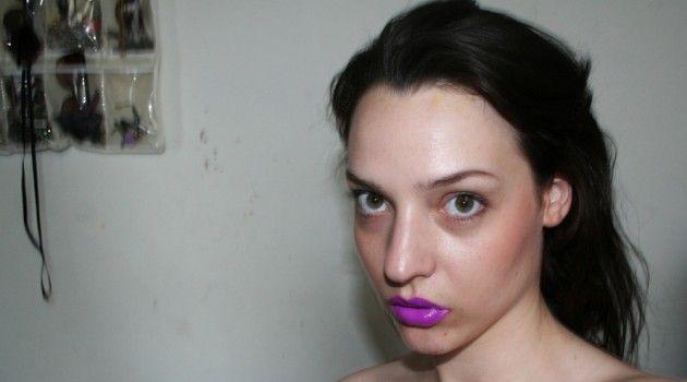 #purple #lipstick