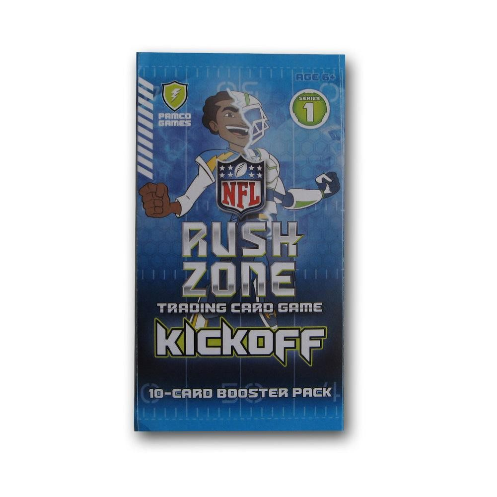 2013 Nfl Rush Zone Card Game - Booster