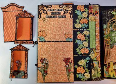 annes papercreations: Graphic 45 Artisan style photo album Part 1