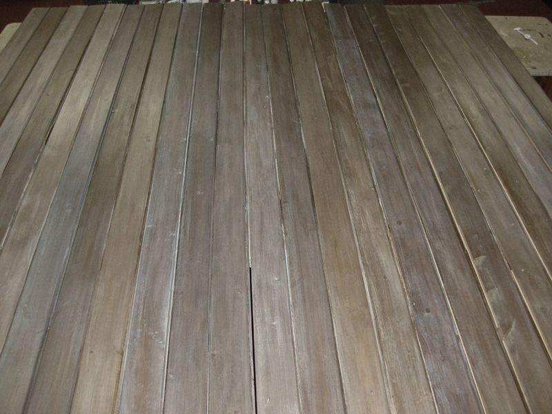 Diy Making Barnwood Staining Wood Flooring