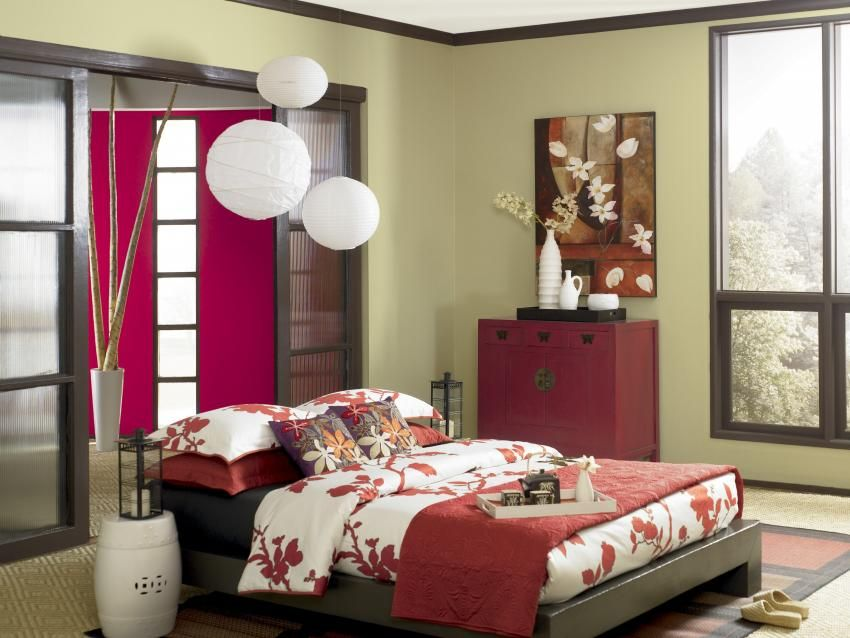 Bedroom design photos bedroom ideas orange bedroom for Camera da letto zen