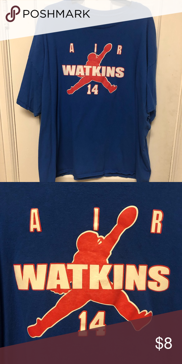 Top Sammy Watkins Buffalo Bills Shirt Air Watkins 14 Size 3XL Shirt  hot sale