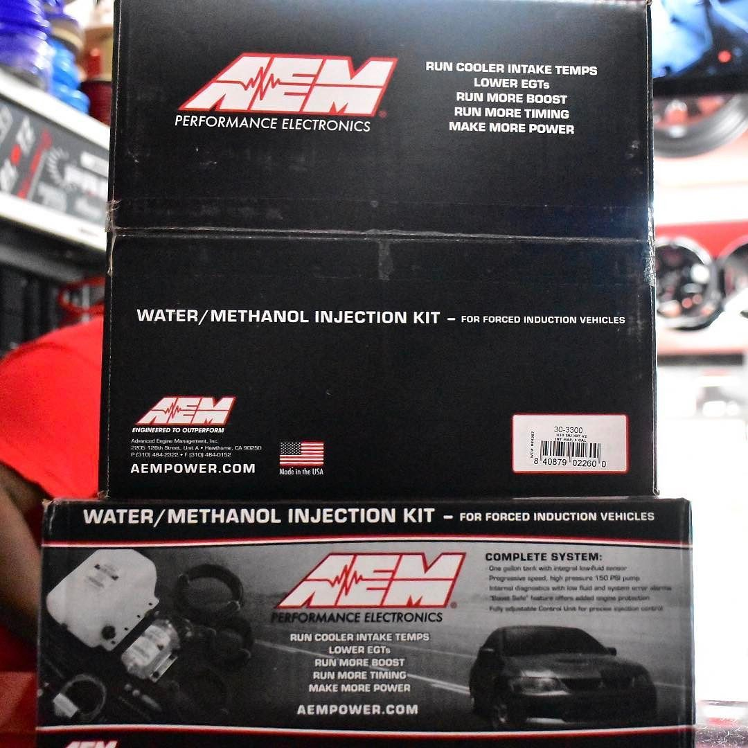 Aem Water Methanol Kit Available Wiring Harness