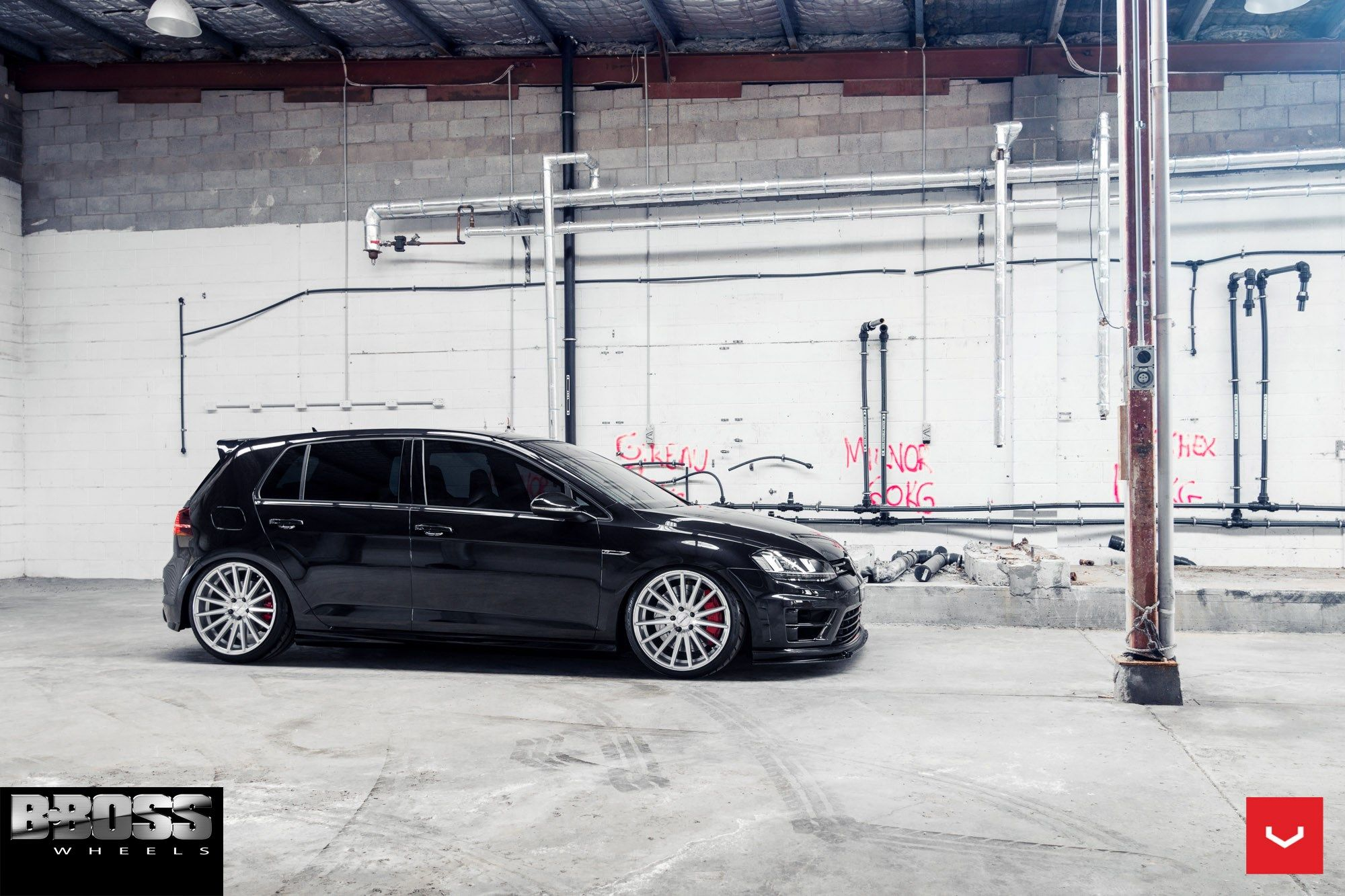Vossen Wheels Vw Golf R Vossen Flow Formed Series Vfs 2 Water