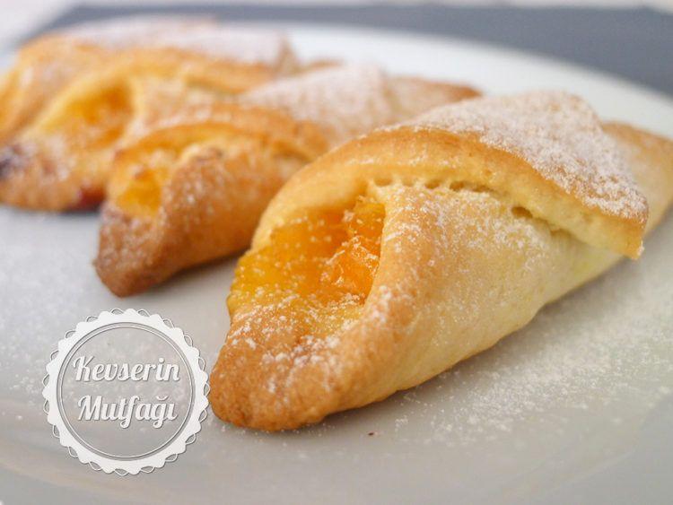 Portakallı ve Elmalı Kurabiye Tarifi #kuchenkekse