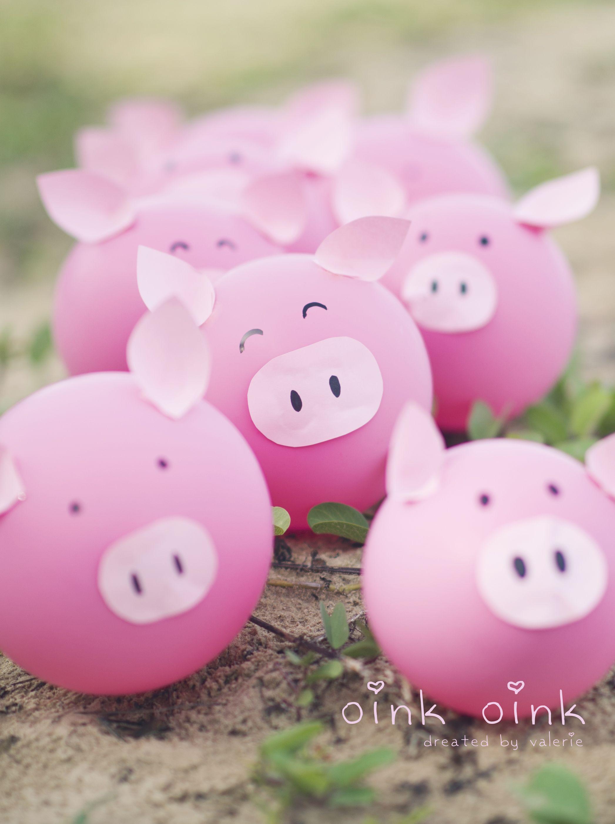 Farm Animal Diy Balloons
