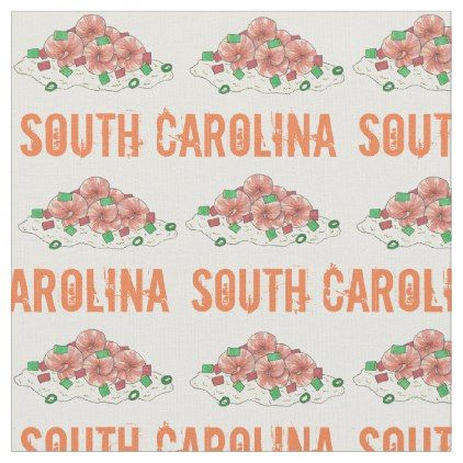 Lowcountry south carolina sc shrimp and grits food fabric lowcountry south carolina sc shrimp and grits food fabric cyo customize do it yourself solutioingenieria Image collections