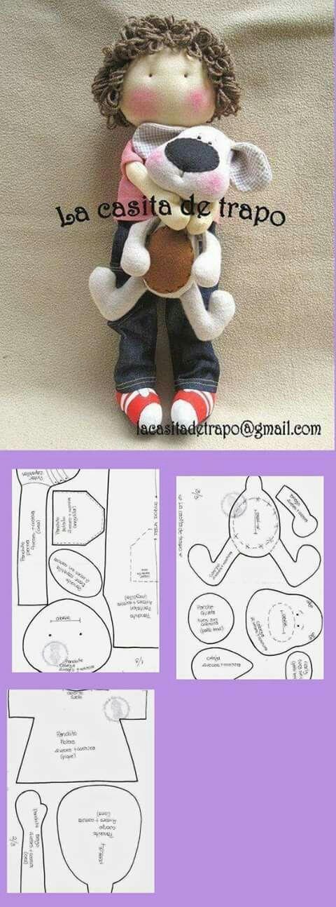 Pin von Irina Kozlova auf куклы | Pinterest