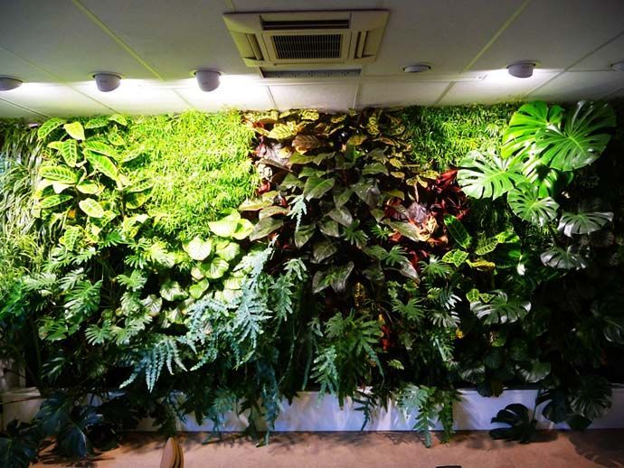Charming Fake Artificial Living Wall Panel Artificial Green Wall Artificial Vertical  Garden Wall Of Cia Artificial