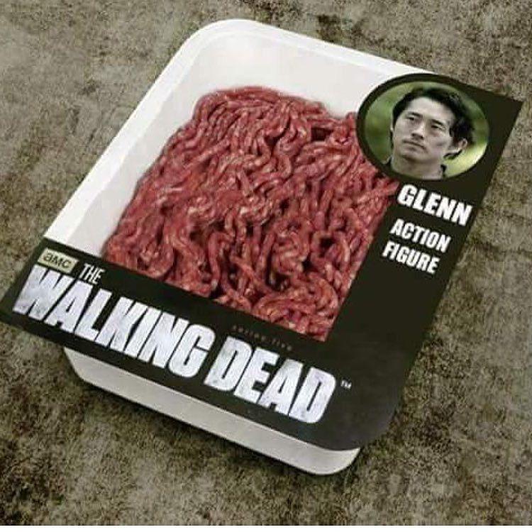 #Damn. Just...damn. #PoorGlenn #TWD #TheWalkingDead #TheWalkingDeadSeason7 #Negan #Lucille #vampirebat #GlennRhee #StevenYeun  Thanks to @bite_the_sword for this one!