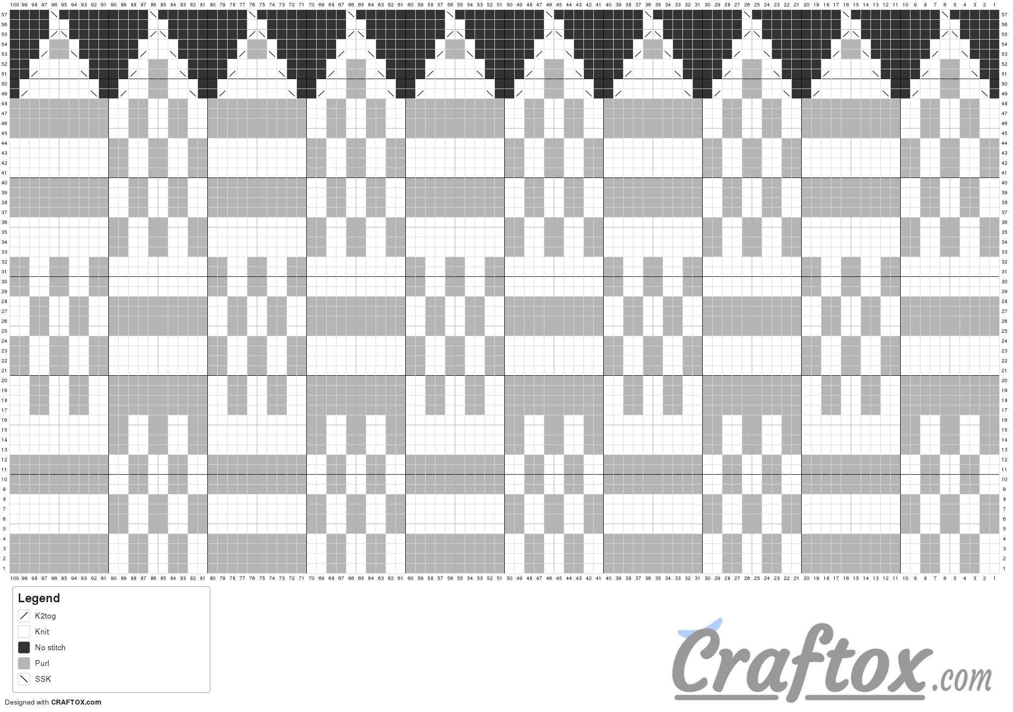Pattern chart 1. Basic knit slouchy beanie. Free. | узоры спицами ...