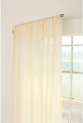 Swinging Curtain Rod