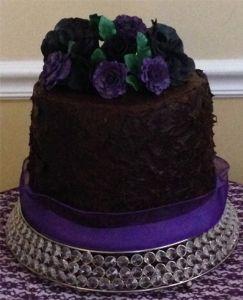 Rhonda Bakes - Birthday Cake - White Cake, Ganache Covered