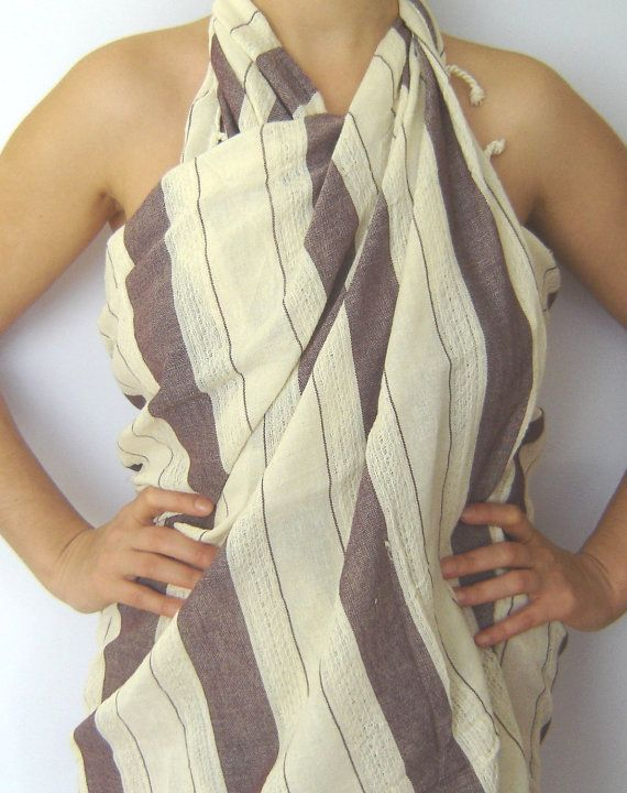 Turkish BATH and Beach Towel Soft Cotton Extra Soft and by TheAnatolian, $29.00