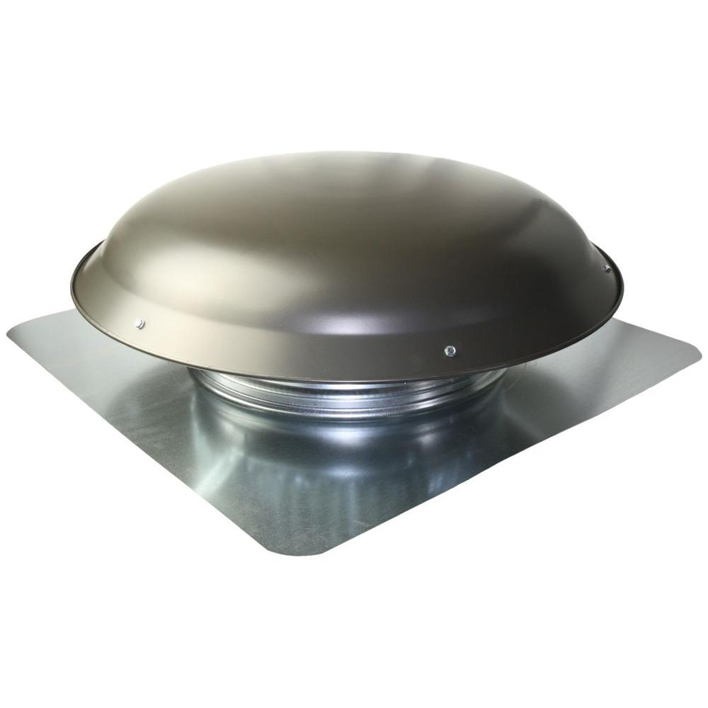 Cool Attic 25 In X 10 In Galvanized Steel Static Vent In Gray Galvanized Steel Metal Roof Steel