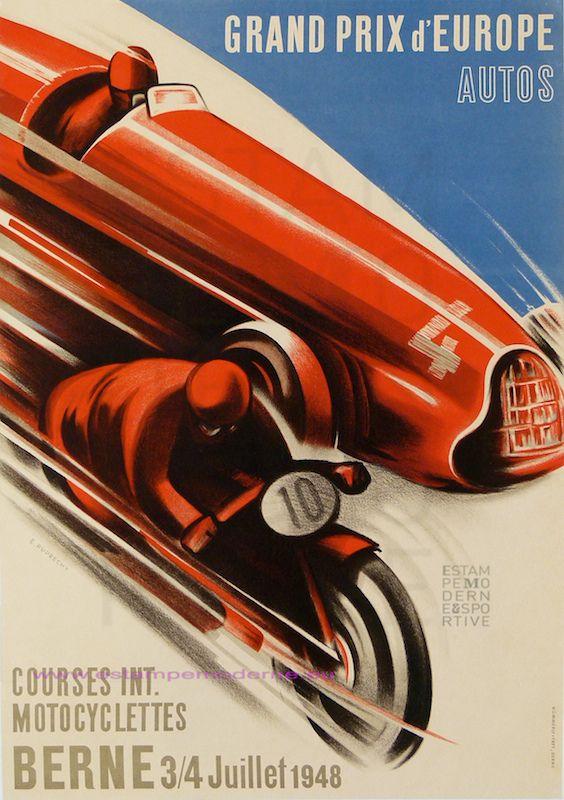 https://flic.kr/p/bWCzuE   E RUBRECHT GRAND PRIX DEUROPE 1948 BERNE 1948 AUTO-MOTO