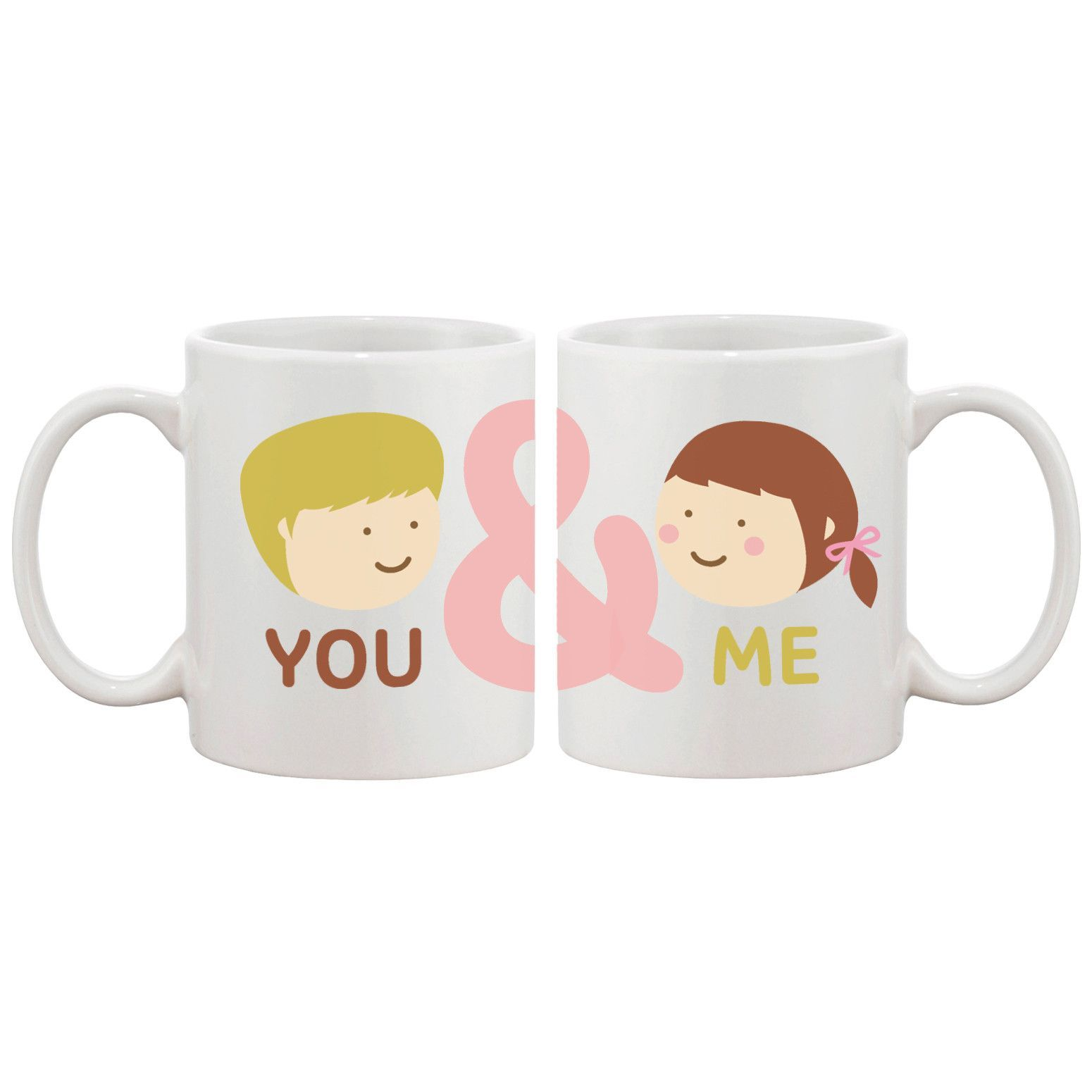 Cute Mug Designs Me Matching Couple Mugs Graphic Design Ceramic Coffee Cup On Ideas