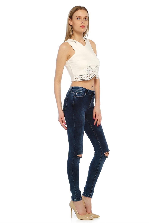 Yüksek Bel Skinny Mavi Bayan Kot Pantolon MC07280914177 | Bayan Pantolon |  Pinterest | Skinny, Models and Woman