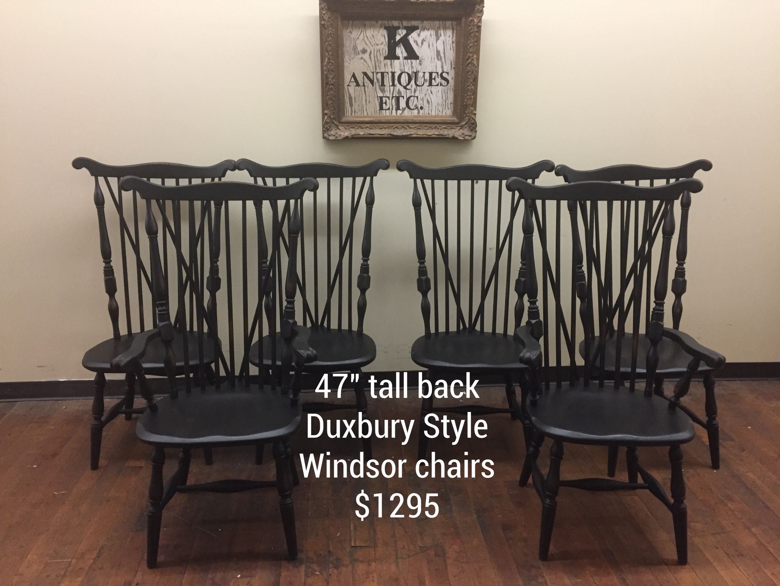 Black Windsor Chairs Available At The C Street Antique Mall S Design Center 181 Lawrence Ma 978 685 1441