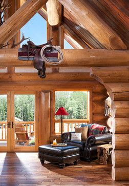 Cloudcroft, NM 2 - rustic - Spaces - Boise - Summit Log & Timber Homes
