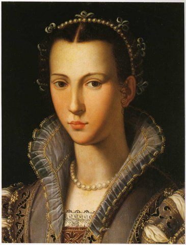 1560 ITALY, FLORENCE Bronzino's Workshop, Portrait of a Woman