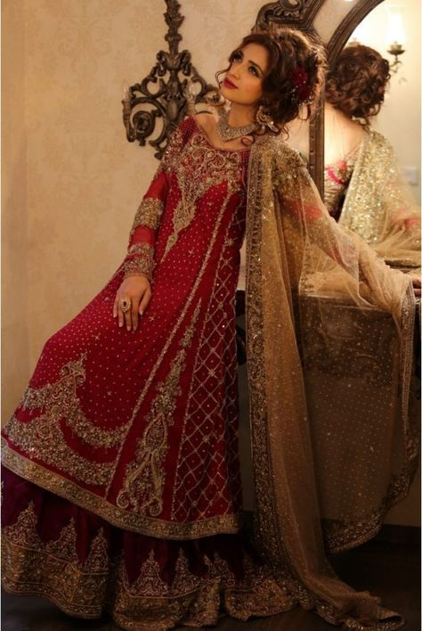 ded89f6209d Pakistani Designer Bridal Dresses by Maria B Brides Collection 2017