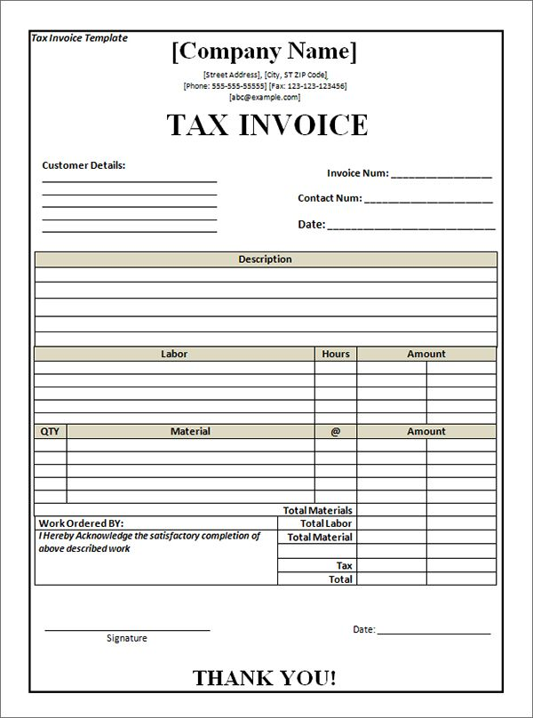 billing invoice template in word Invoice Templates Pinterest - download word invoice template